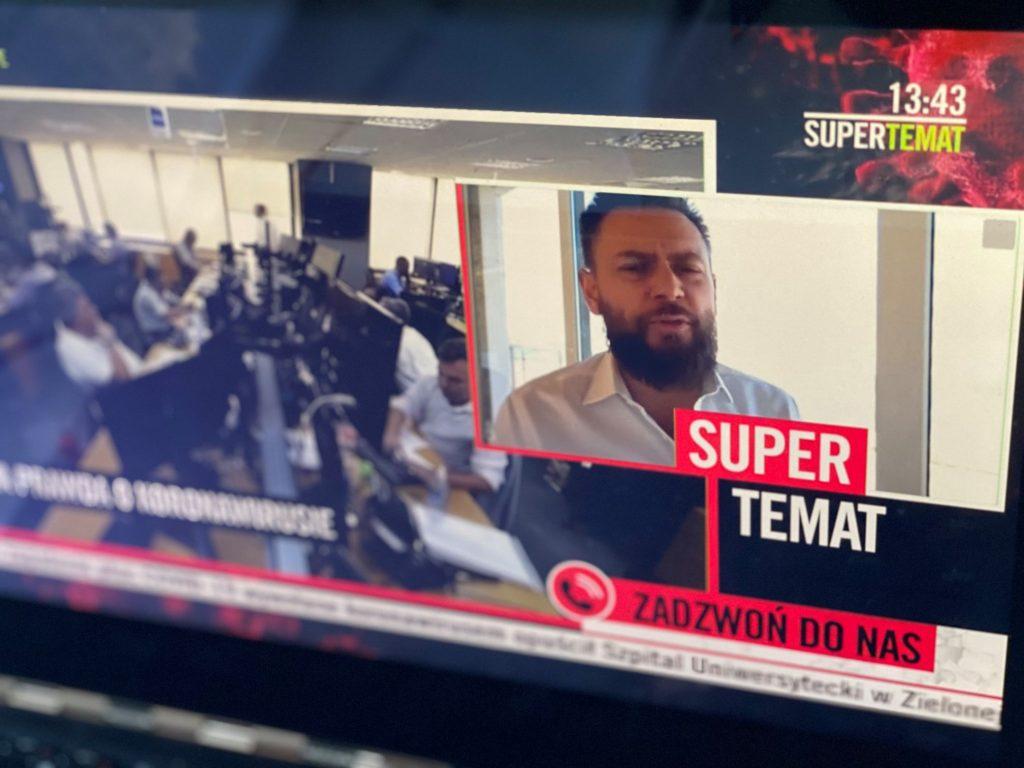 Telewizja Superstacja - Łukasz Mazur