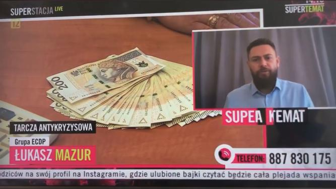Łukasz Mazur Superstacja